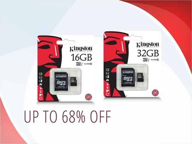 Kingston microSDHC Cards — from $9.50 shipped