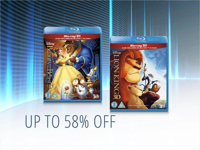 Disney Movie Collections — from $9.99 shipped