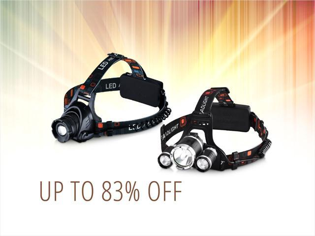 Personal Headlamps — from $12.99 shipped