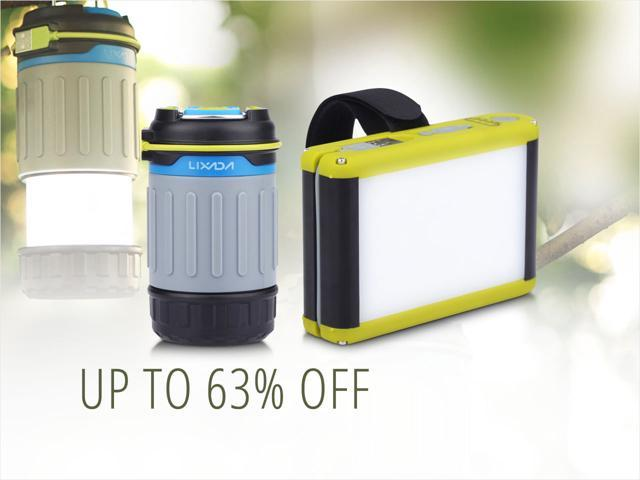 Rechargeable Camping Lanterns — from $14.99 shipped