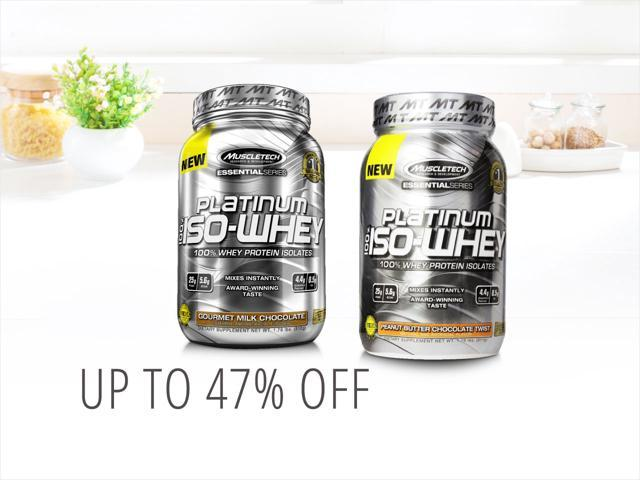 MuscleTech Whey Supplements — only $26.00 shipped