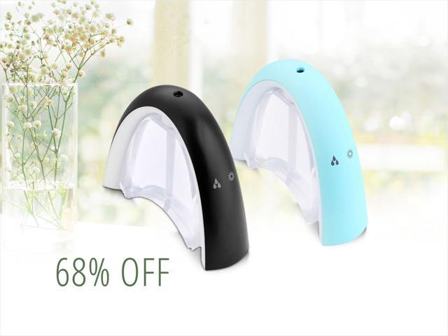 Color Aroma Humidifiers — only $12.99 shipped