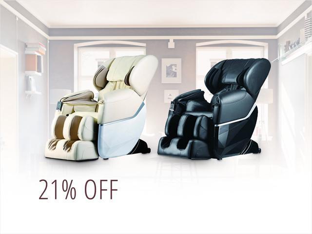 Heated Shiatsu Massage Chairs — only $489.99 shipped