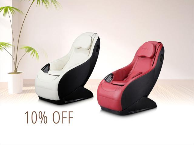 Curved Gaming & Shiatsu Chairs — only $359.99 shipped