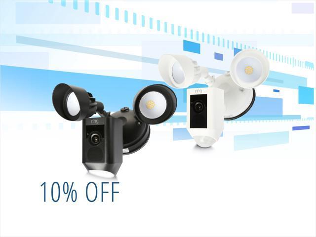 Ring Floodlight Cameras - $224.00 Shipped