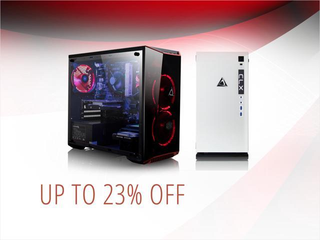 CLX Set Gaming PCs - from $1319.49 Shipped