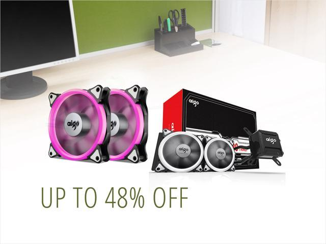 Aigo PC Cases & Coolers - From $7.99 Shipped