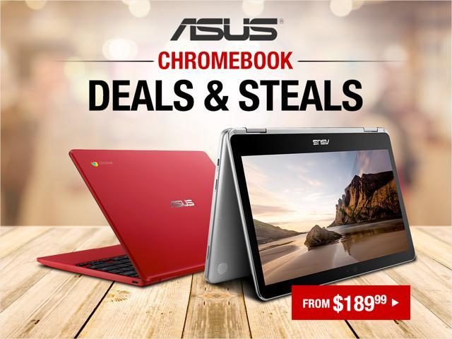 ASUS Chromebooks - From $189.99 Shipped