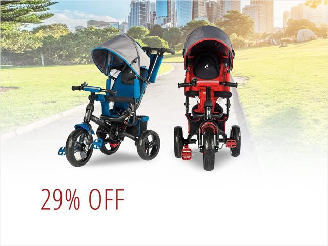 Evezo 4-in-1 Strollers - $119.99 Shipped