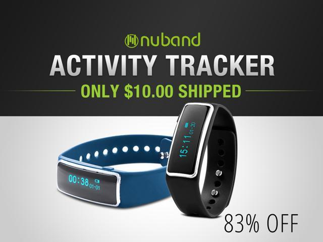 Nuband Fitness Trackers — Only $10.00 Shipped