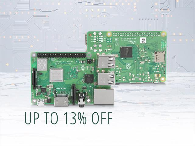 Raspberry Pi 3 - from $34.99 Shipped