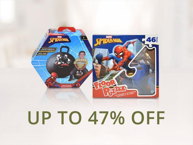 Spider-Man Collectibles and Accessories - From $6.99 Shipped