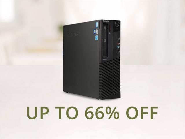 Refurbished Lenovo Thinkcentre M82 Desktop PCs - From $99.99 Shipped after $30 MIR.