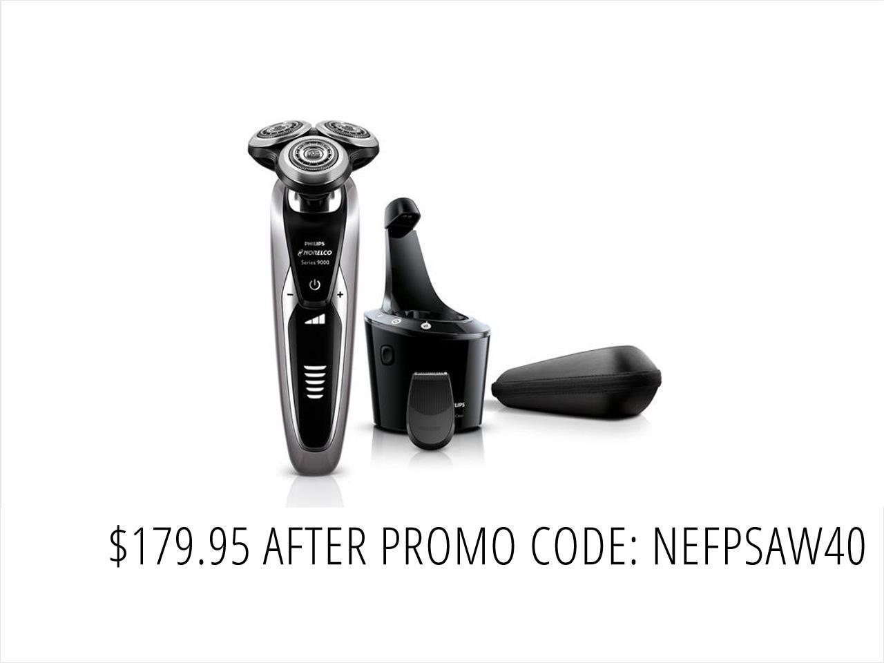 Philips Norelco Shaver 9300 Wet & Dry Electric Shaver Series 9000 S9311/84