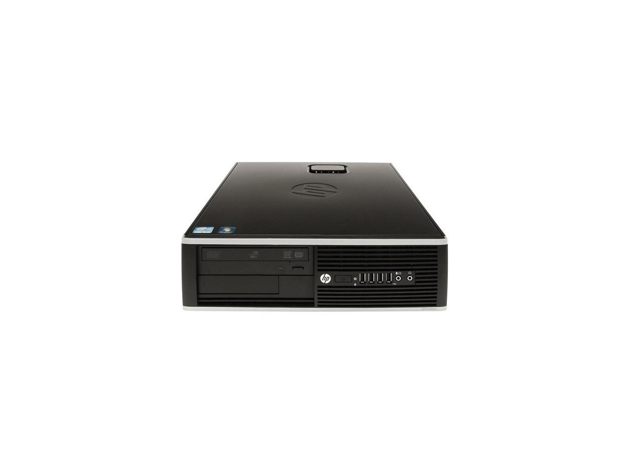 Refurbished: HP Compaq Desktop Computer 6000 Pro Core 2 Duo E8400 (3.00 GHz) 4 GB DDR3 160 GB HDD Windows 10 Home 64-Bit