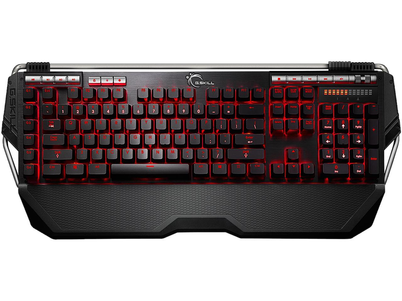 G.SKILL RIPJAWS KM780R MX Mechanical Gaming Keyboard - Cherry MX Blue