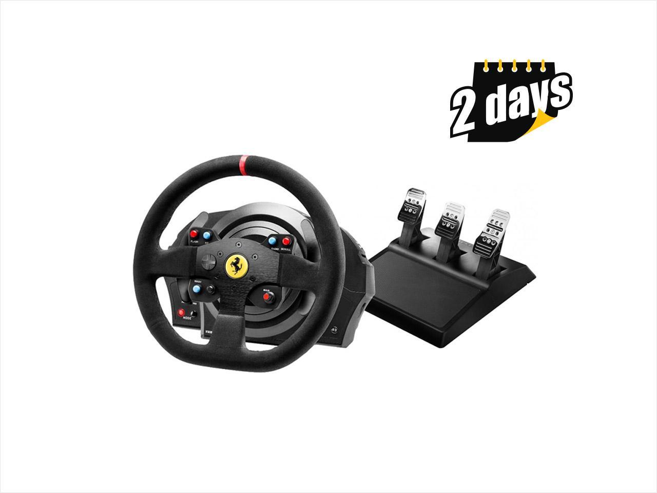 thrustmaster t300 ferrari integral rw alcantara edition. Black Bedroom Furniture Sets. Home Design Ideas