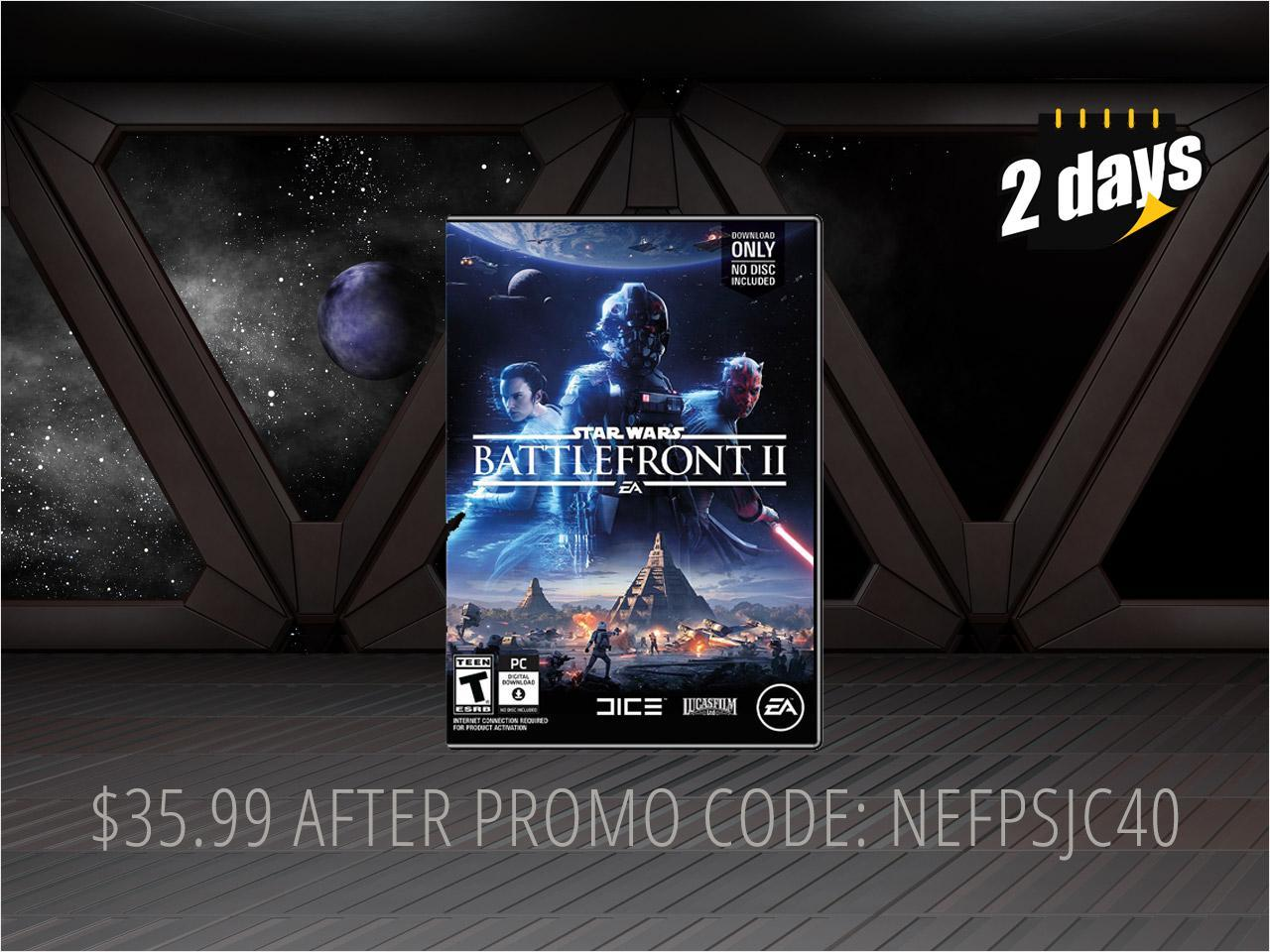 Star Wars Battlefront II - PC (Physical Key Code - No Disc