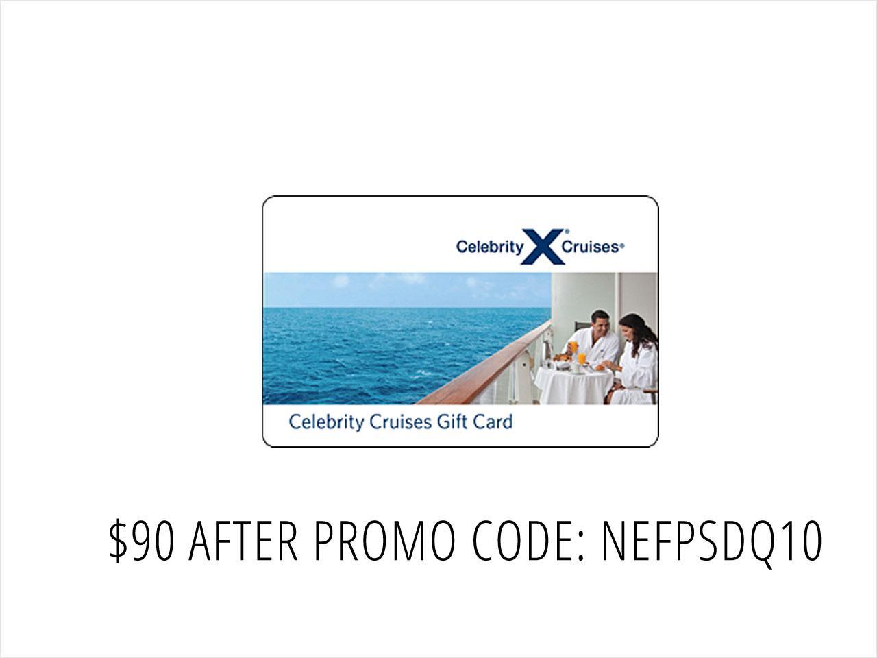 Celebrity Cruise Gift Card Gift Ideas