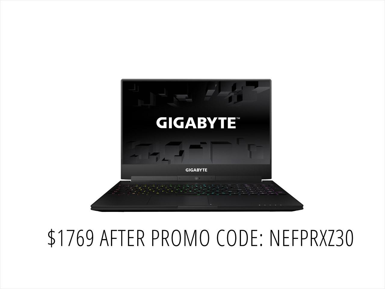 "GIGABYTE Aero 15W-BK4 15.6"" Intel Core i7 7th Gen 7700HQ (2.80 GHz) NVIDIA GeForce GTX 1060 16 GB Memory 512 GB M.2 SSD Windows 10 Home 64-Bit Premium Thin and Light Laptop Battery Capacity up to 10 hours X-Rite Pantone Certified (Black)"