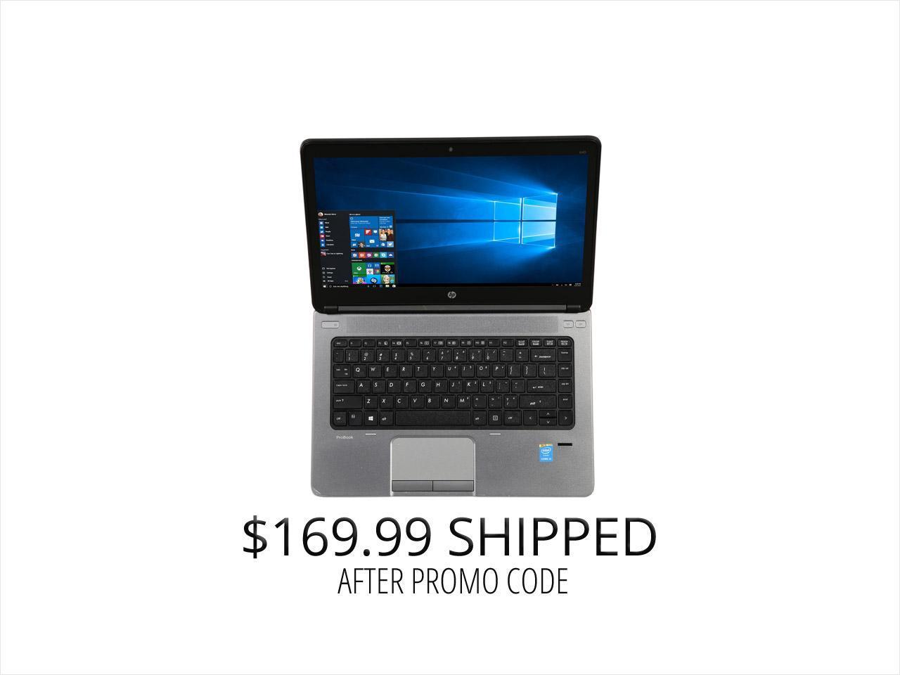 Refurbished Hp B Grade Laptop Probook 640 G1 Intel Core I5 4th Gen 4300m