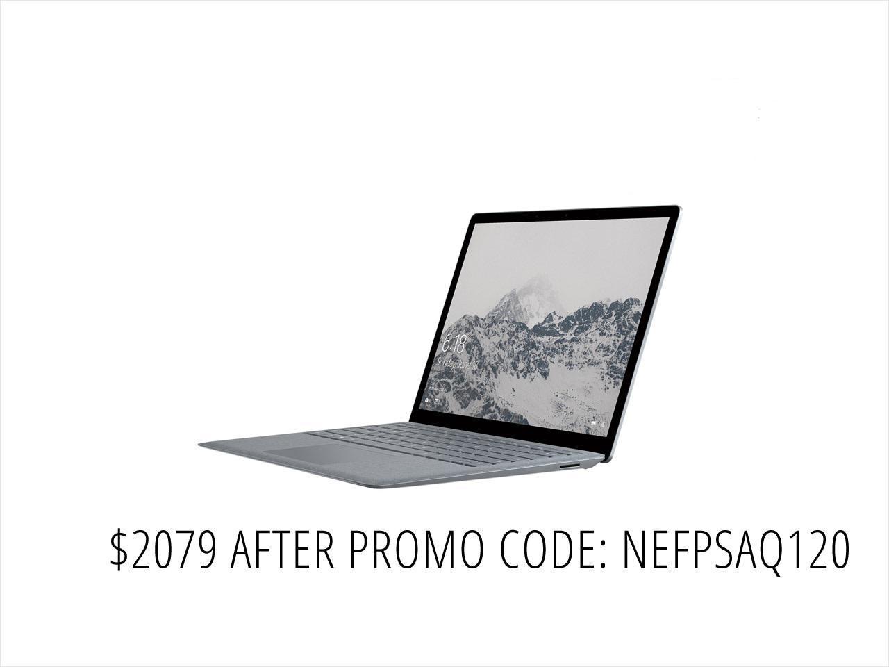 "Microsoft Surface 13.5"" Laptop DAL-00001 Intel Core i7 7th Gen 7660U (2.50 GHz) 16 GB Memory 512 GB SSD Intel Iris Plus Graphics 640 Touchscreen Windows 10 S - Platinum"