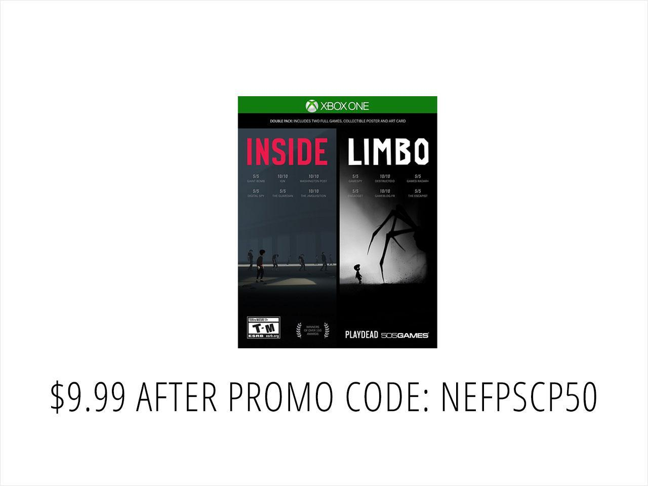 Inside/Limbo Double Pack - Xbox One