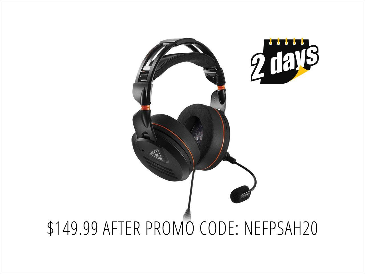 Turtle Beach Elite Pro Tournament Gaming Headset - Xbox One, PS4, PC and Mobile Gaming