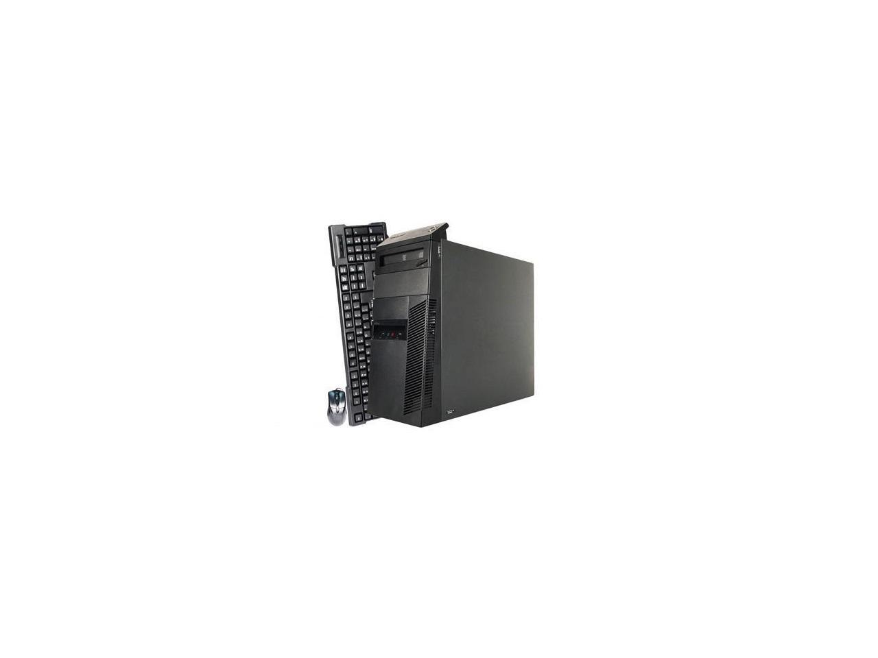 Refurbished: Lenovo Desktop Computer M91 Intel Core i5 2nd Gen 2400 (3.10 GHz) 4 GB DDR3 1 TB HDD Intel HD Graphics 2000 Windows 10 Pro 64-Bit