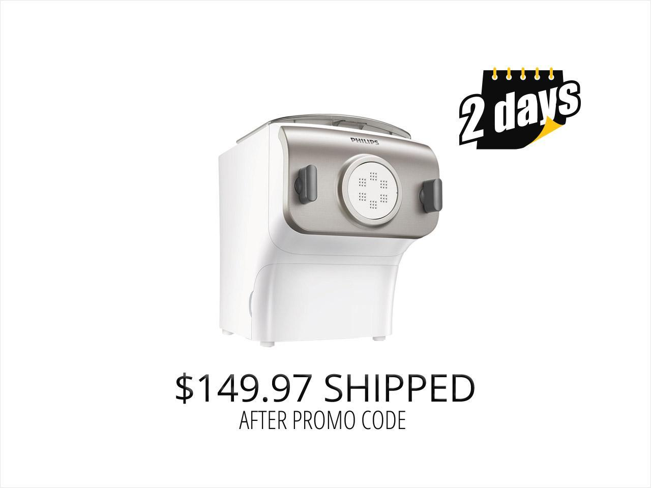 Philips Premium Collection Pasta and Noodle Maker, HR2357/05