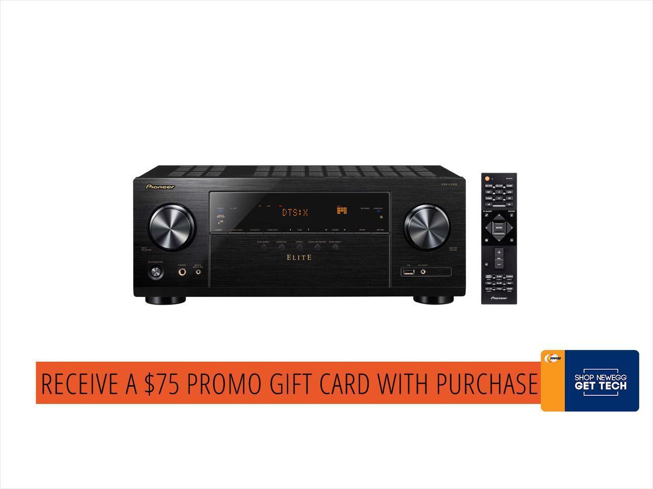 Pioneer VSX-LX102 Elite AV Receiver