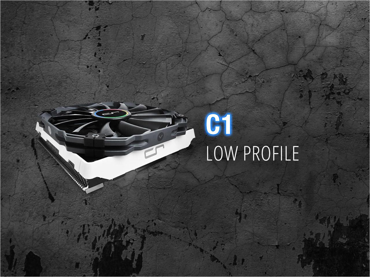 CRYORIG C1 ITX Top Flow Cooler For AMD/Intel CPU