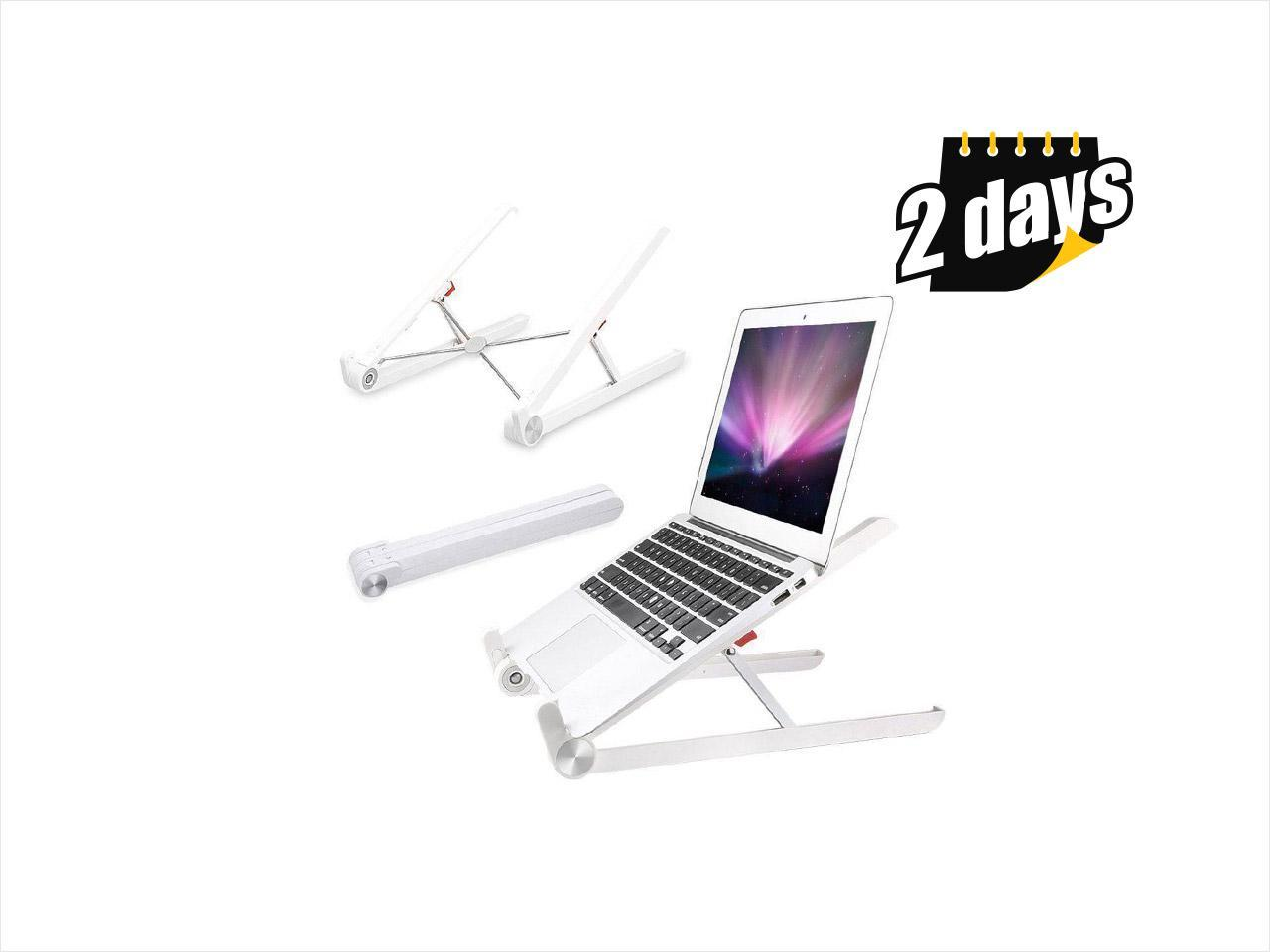 Adjustable Laptop Computer Stand Desk Table Tray on Bed Holder