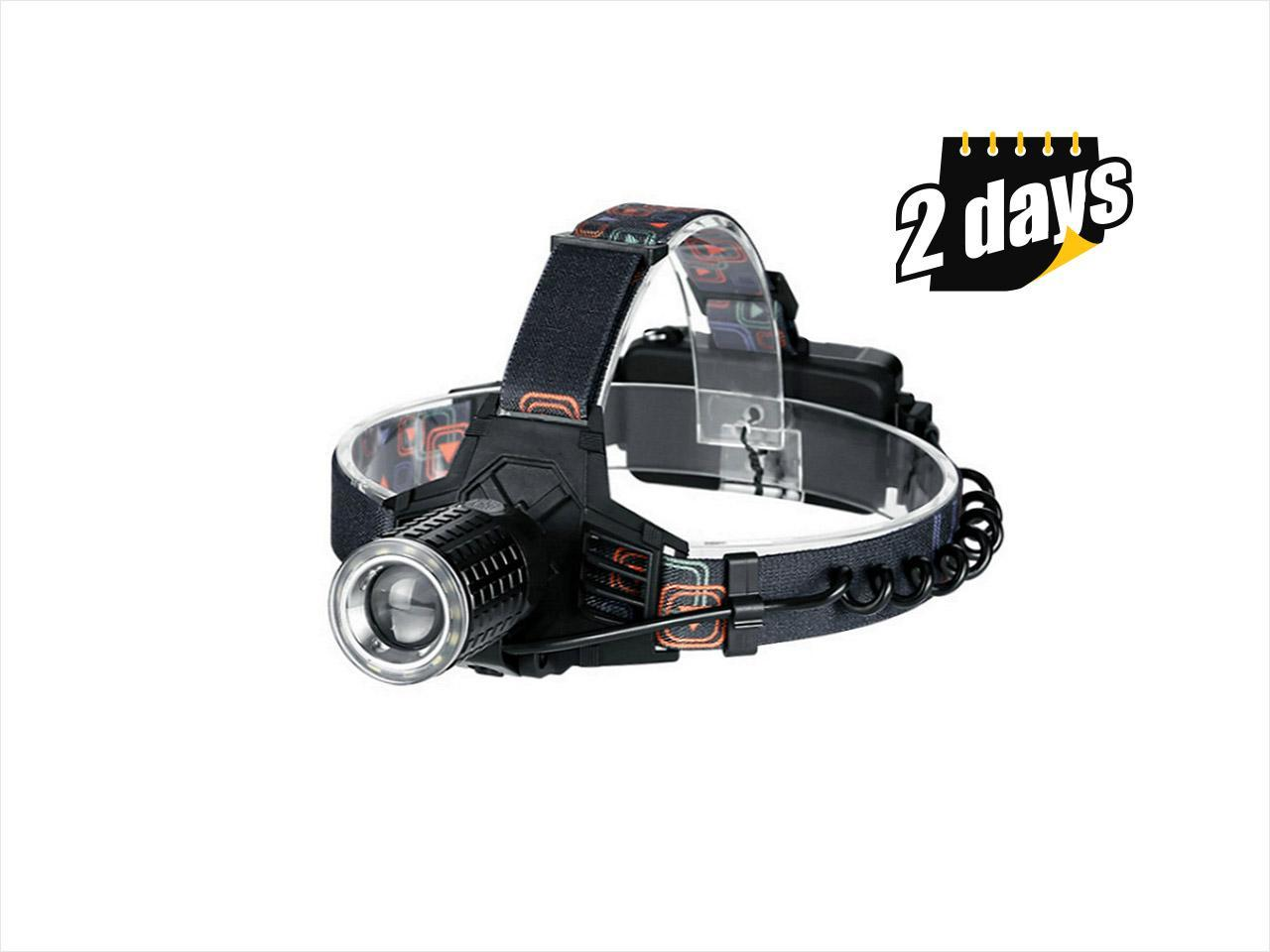 YAGE YG-608C HeadLamp USB LED Head lamp Forehead Flashlight Head Light Led Lintern Fishing Lanterna Six Modes for 18650 Battery