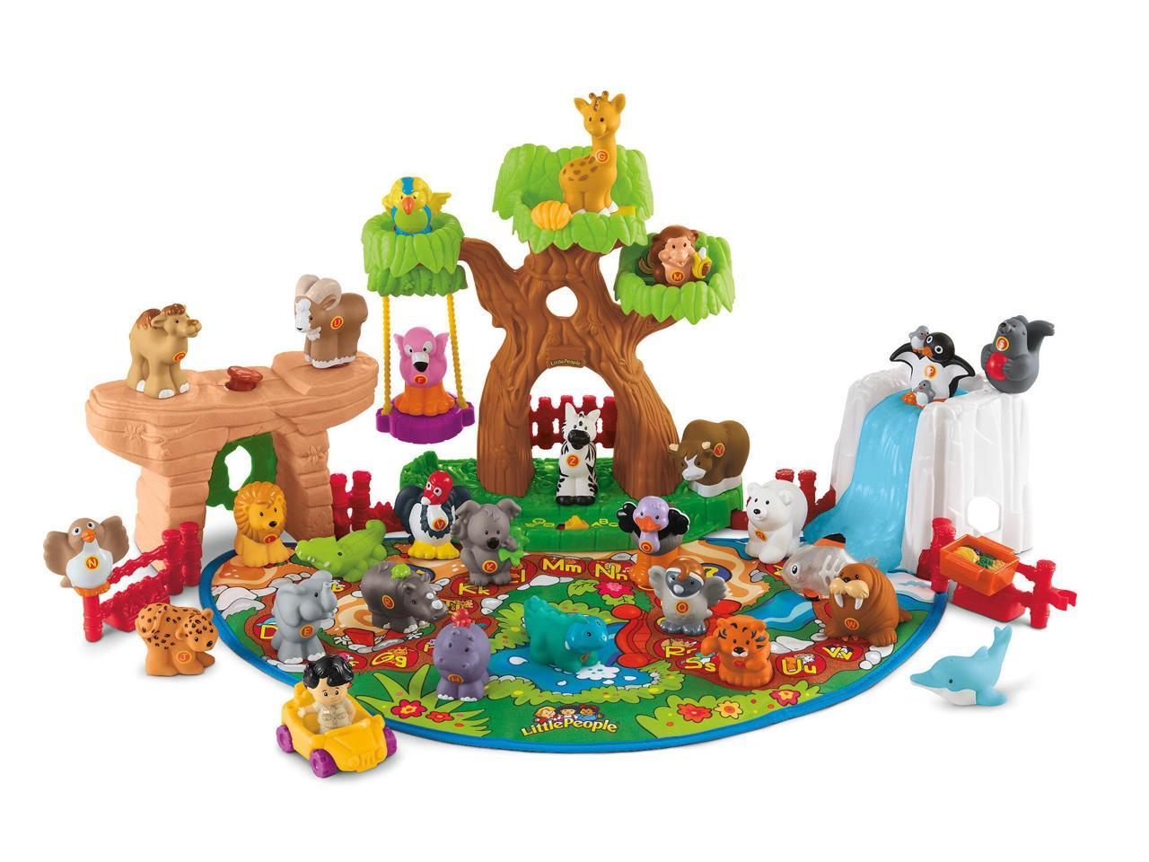 Fisher-Price Little People A To Z Learning Zoo™ – NeweggFlash.com