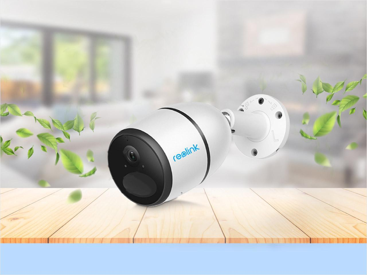 Reolink GO 3G 4G Wireless Security Camera Battery Powered 1080P with Color Night Vision, Local Storage, Cloud, PIR Motion Detection