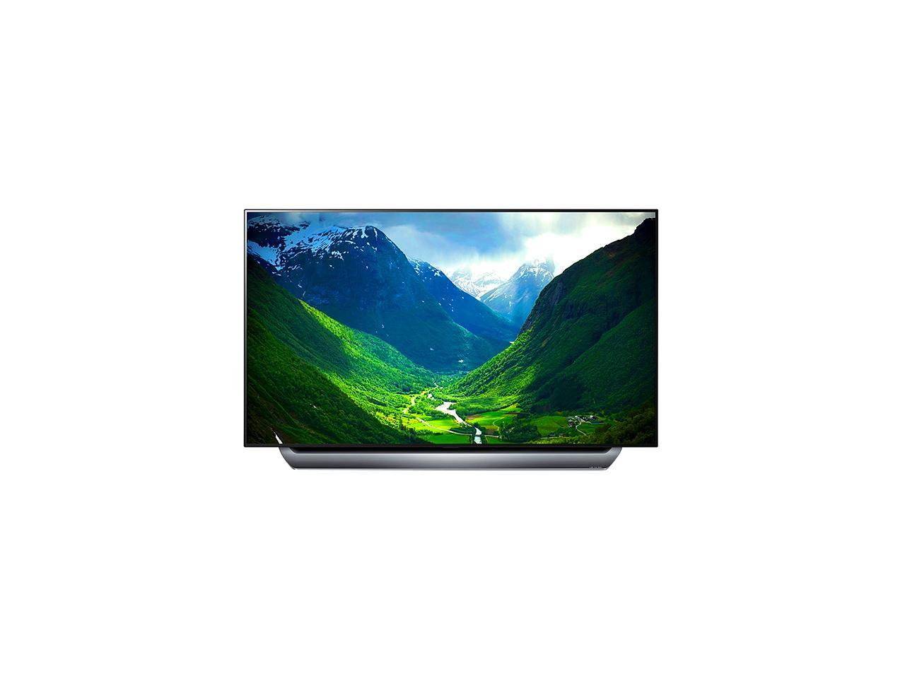 """LG C8 77"""" 4K HDR Dolby Atmos Smart TV with AI ThinQ OLED77C8PUA (2018)"""