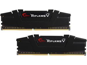 G.SKILL Ripjaws V Series 8GB (2 x 4GB) 288-Pin DDR4 SDRAM DDR4 3200 (PC4 25600) Intel Z170 Platform / Intel X99 Platform Desktop Memory Model F4-3200C16D-8GVKB