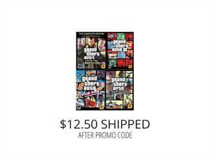 GTA Power Pack (GTA IV Complete, GTA 3, GTA Vice City, GTA San Andreas) [Online Game Codes]