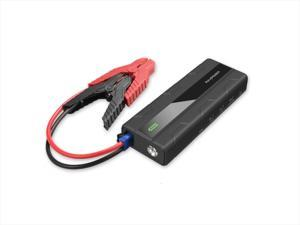 Car Jumper Starter RAVPower 1000A Peak Current Quick Charge 3.0 12V (for All 12V Gas & Diesel Engines up to 7L) Power Bank with 2.4A iSmart Ports Built-in LED Flashlight Car Battery Booster