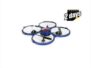 UDI Discovery U818A-1 (Updated Version) 2.4GHz 4CH RC Quadcopter w/ HD Video Camera & BONUS Battery