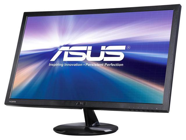 "Refurbished: ASUS VP247H-P-12 Black 23.6"" 1ms (GTG) HDMI Widescreen LED Backlight Full HD 1920 x 1080 Gaming Monitor"