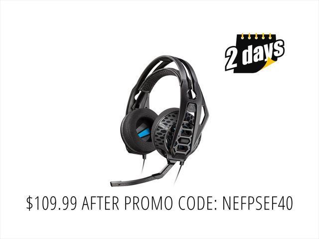 Plantronics RIG 500E Surround Sound PC Headset - E-Sports Edition