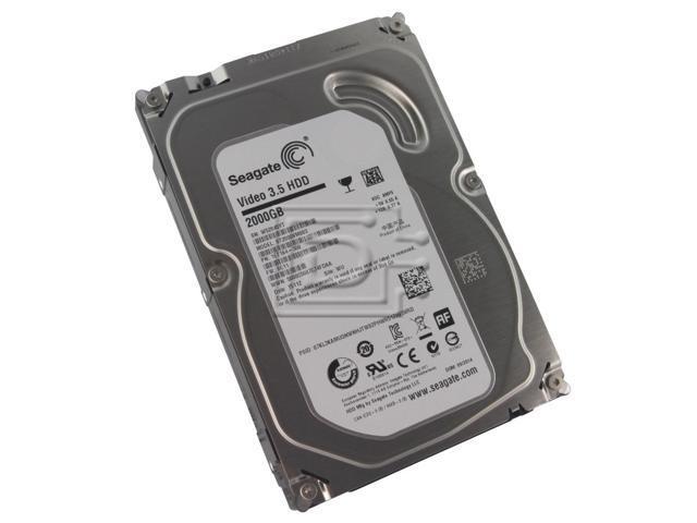 "Refurbished: Seagate Grade A ST2000VM003 2TB 3.5"" HDD SATA 6.0Gb/s AV Desktop Internal Hard Drive - OEM"