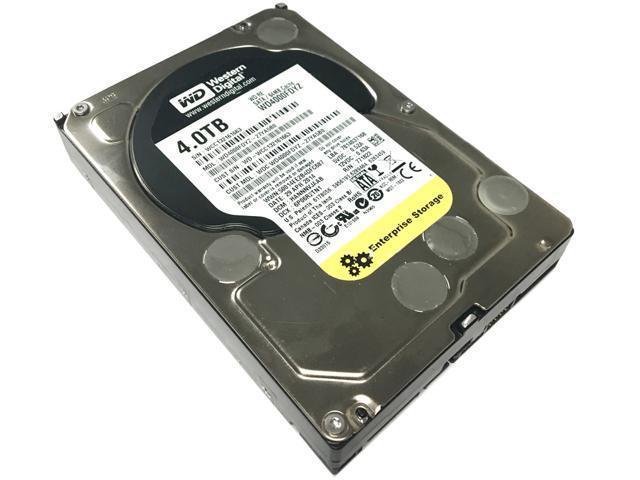 """Refurbished: WD Grade A WD4000FDYZ 4TB 3.5"""" HDD SATA 6.0Gb/s RE 7200 RPM  Internal Hard Drive 1 Year Warranty - OEM"""