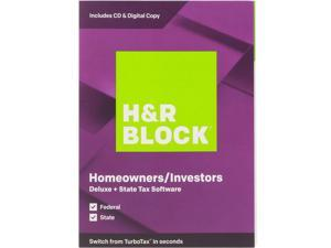H&R Block Tax Software Deluxe + State 2019 + 128GB MicroSDXC Deals