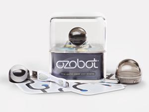 Ozobot World's Smallest Smart Robot (Single Pack) - Titanium Black