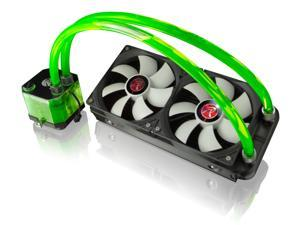 Raijintek All-In-One Open Loop Liquid Cpu Cooler w/ New Pump, Water Block, Tank Design, 2* 12025 Fans, 2 Led Lights, Fan Rpm Controller, Solid Mounting Kits, Sturdy Installation - Triton Gree