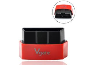 iKKEGOL Vgate iCar 3 Mini OBD2 OBDII Wifi Car Diagnostic Scanner for IOS iPhone iPad PC Android New Version - Red