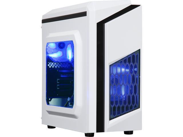 DIYPC DIY-F2-W ATX Mini Tower Computer Case